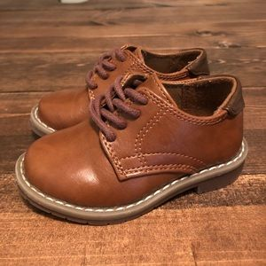 Children's Place Toddler Boys Brown Dress Shoes